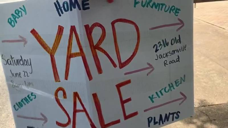 Do you know the rules for a yard sale in your city?