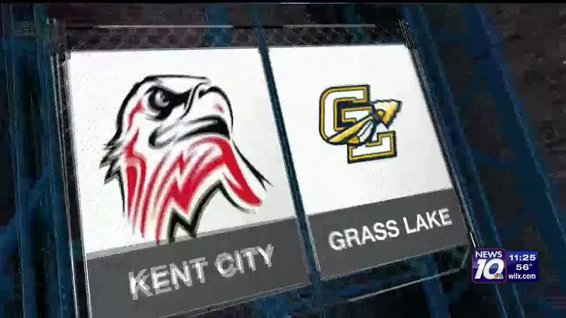 Kent City vs. Grass Lake