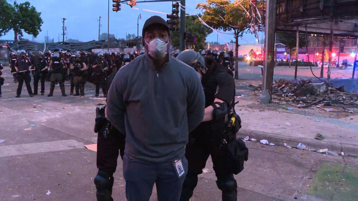 On Friday, May 29, 2020, CNN journalist Omar Jimenez was arrested by Minnesota State Police. (CNN)