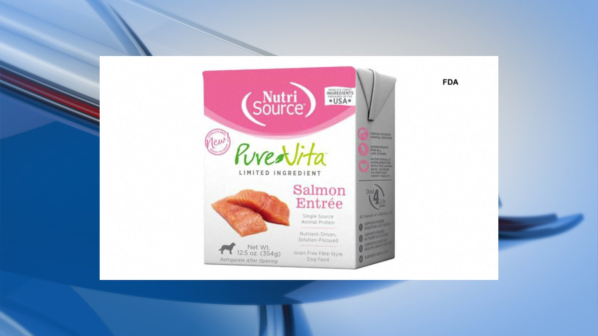 Tuffy's recalled their Pure Vita Salmon Entrée dog food for possible excessive levels of...