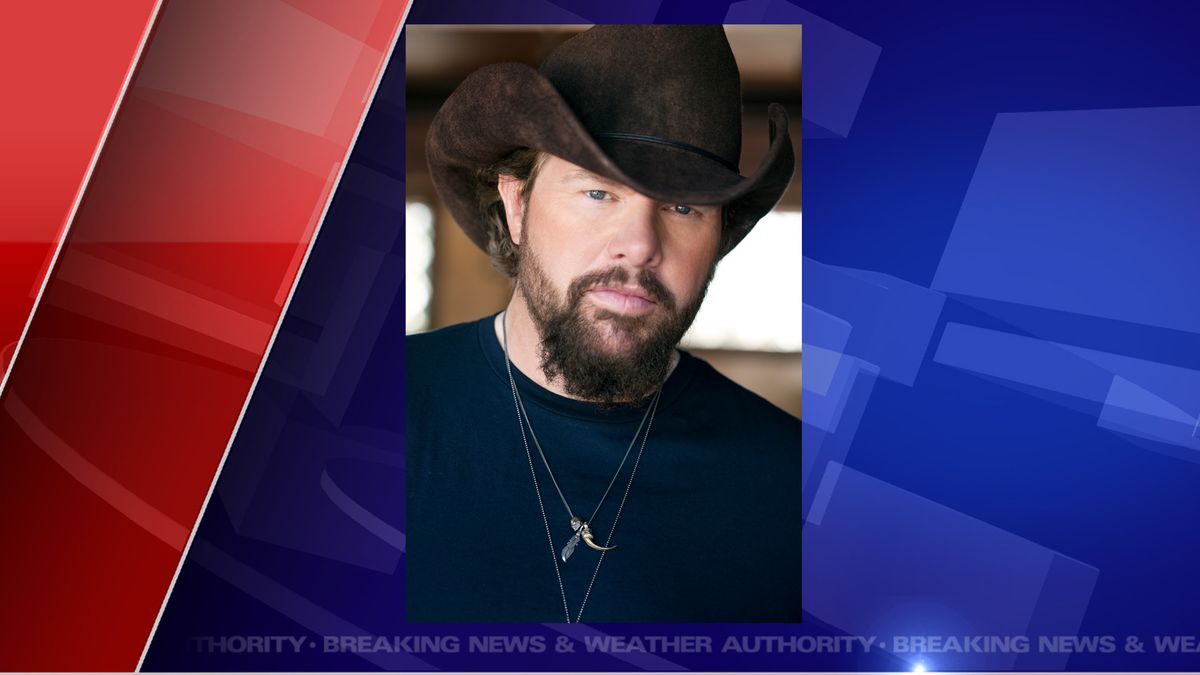 "Toby Keith, singer, songwriter, of the hit, ""Should've Been A Cowboy,"" will be headlining the Jackson County Fair.  (Source WILX)"