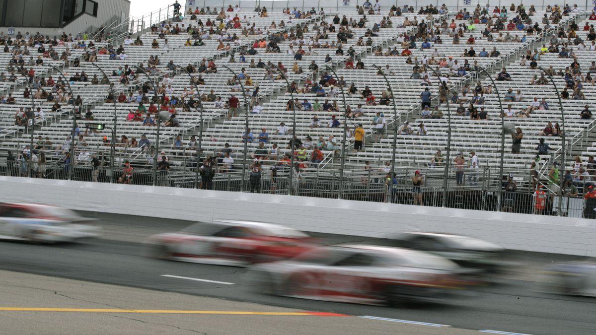 NASCAR races return to Michigan International Speedway in Brooklyn this weekend.