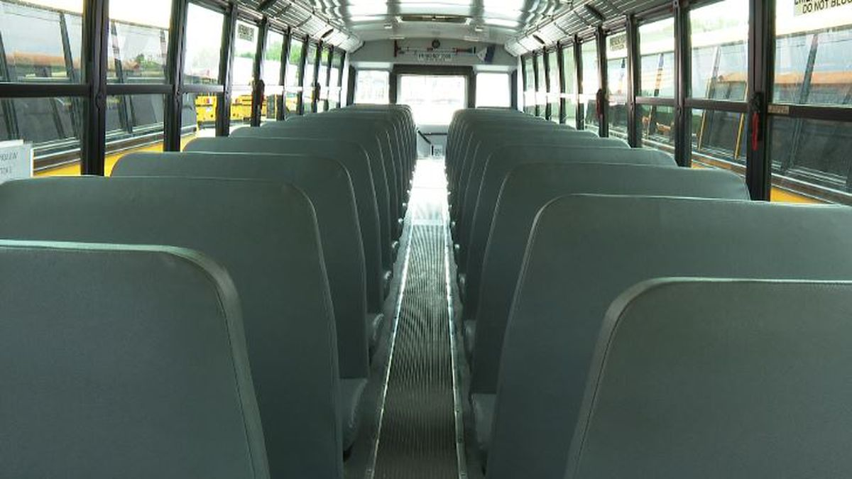 There is an effort to install seatbelts on school buses in Michigan.
