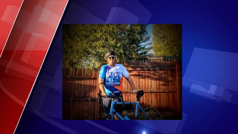 Cody Dean is biking for cancer research.