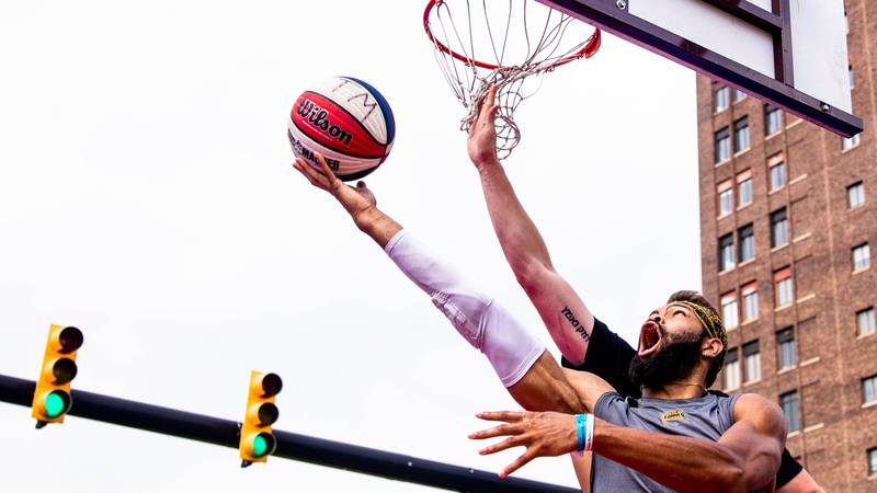 The Gus Macker Tournament hit the court after being canceled last year.