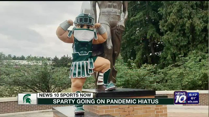 Sparty goes on hiatus