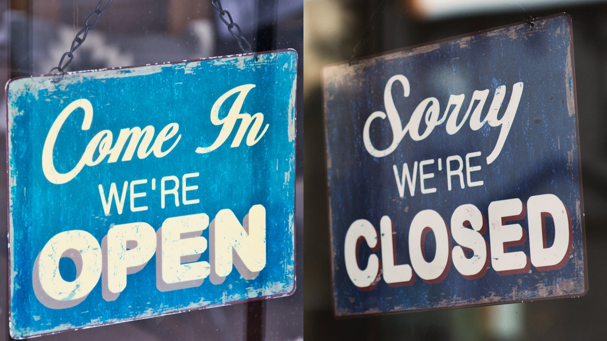 It's a confusing time to figure out what businesses are open, what's closed and what can open...