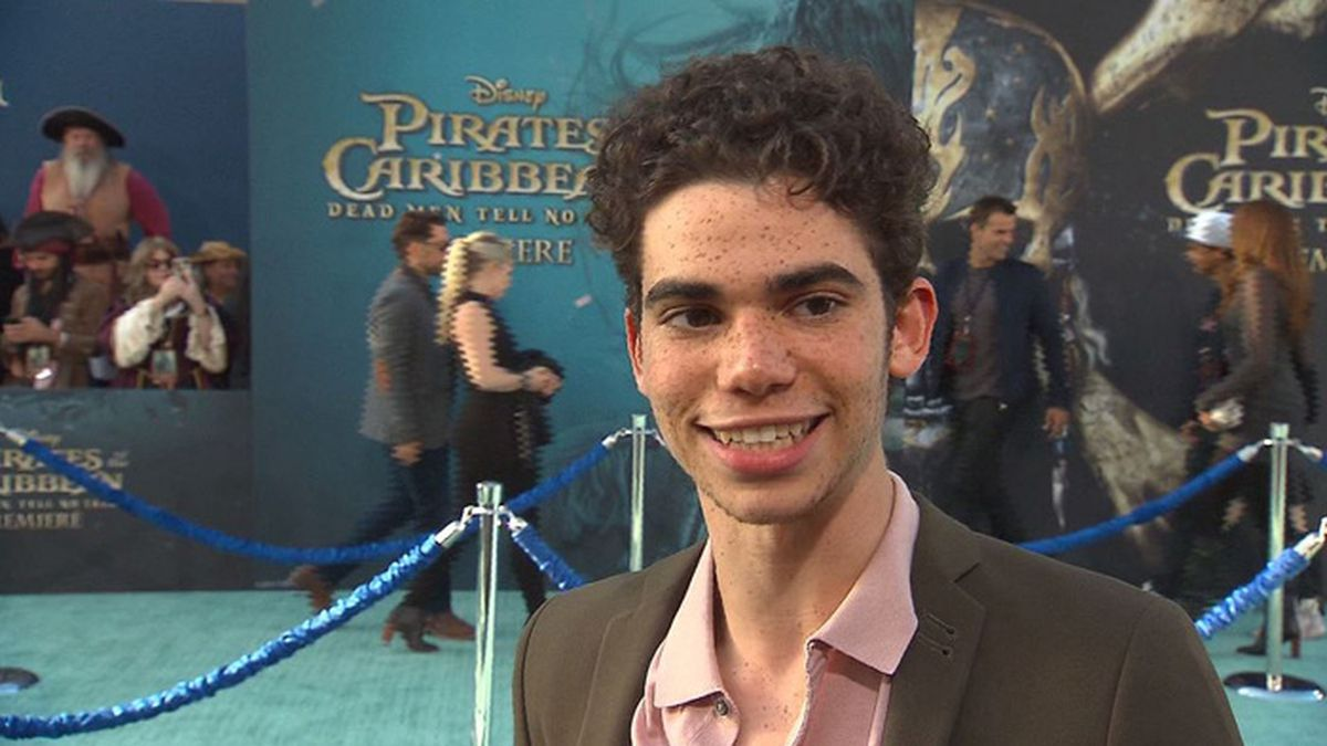 Actor Cameron Boyce died Saturday in his sleep after a seizure. His family told People magazine that the seizure was the result of an ongoing medical condition. (Source: Pool/CNN)