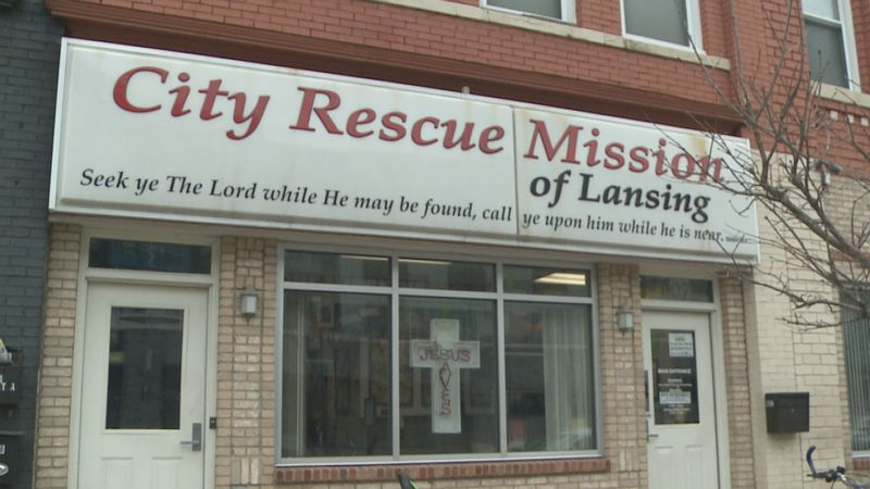 With homeless numbers on the rise amid the pandemic, The City Rescue Mission of Lansing is...