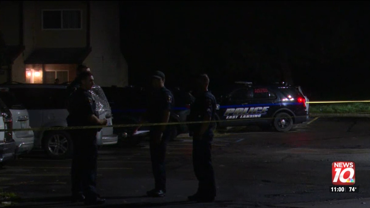 Police respond to a shooting on the 1800th block of Swallow Court.