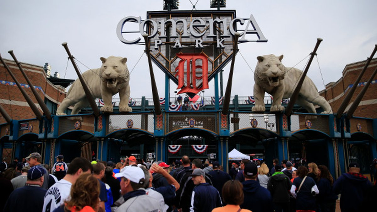 It looks like Michigan will allow more than 1,000 fans inside Comerica Park for Tigers home...