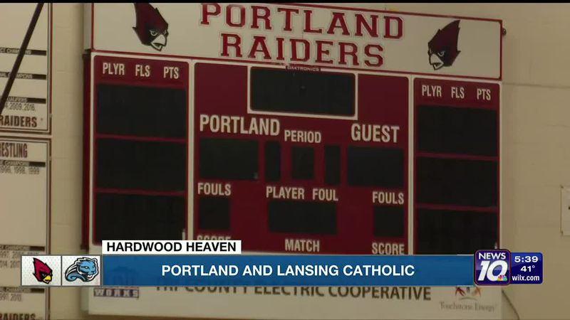 Hardwood Heaven: Portland and Lansing Catholic