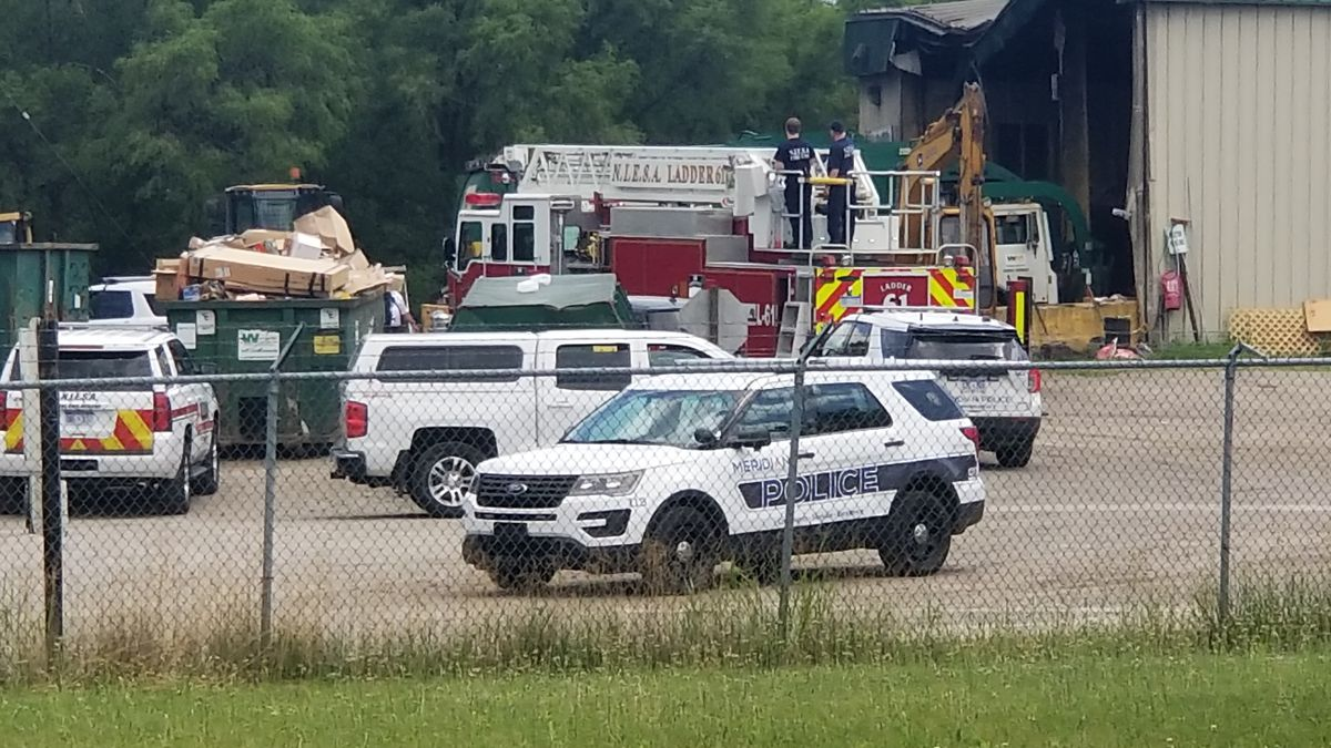 Meridian Township Police Department investigating reports of a body found at waste management facility in the Williamston area. (Source: WILX)
