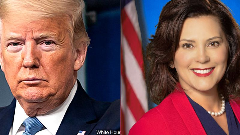 Governor Whitmer has released a statement on President Trump testing positive for COVID-19.