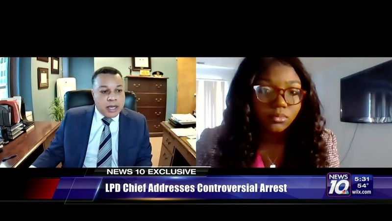 LPD Chief addresses controversial arrest