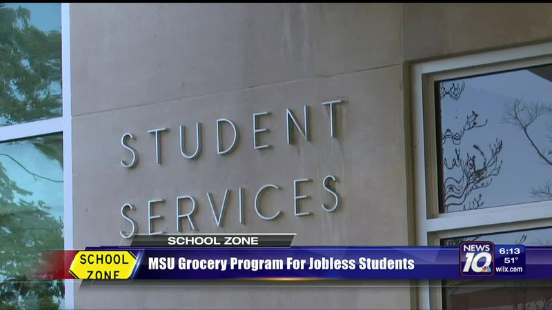 MSU grocery program for jobless students