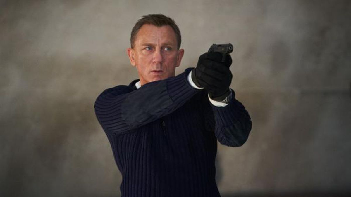 "Before he passes the mantle of Britain's favorite spy to someone else, Daniel Craig will portray James Bond for the fifth time in ""No Time to Die."" (Source: MGM Pictures)"
