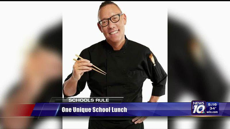One unique school lunch