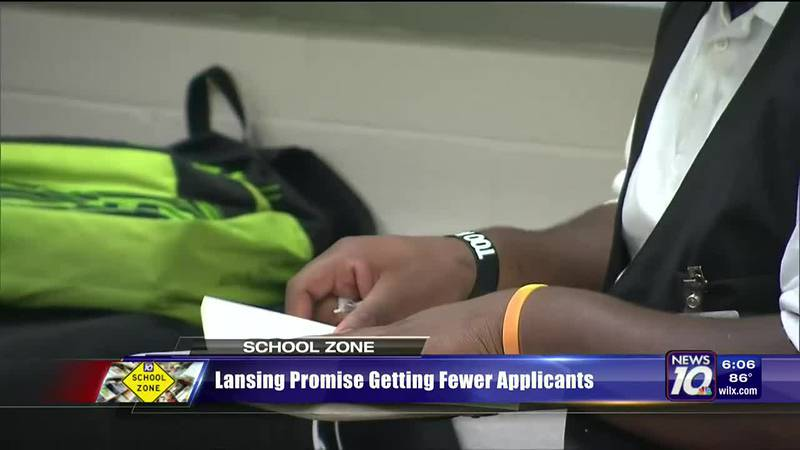 Lansing promise getting fewer applicants
