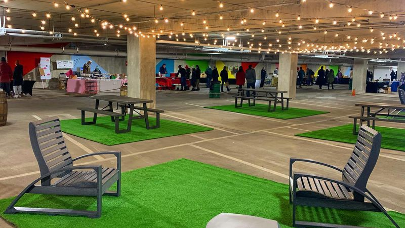 East Lansing's underground market is officially open. The Sunday market showcases a lot of...