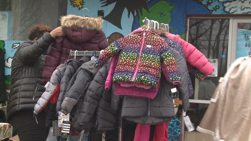 Rivers of Life Church and the Southside Community Coalition organized a coat drive to help...