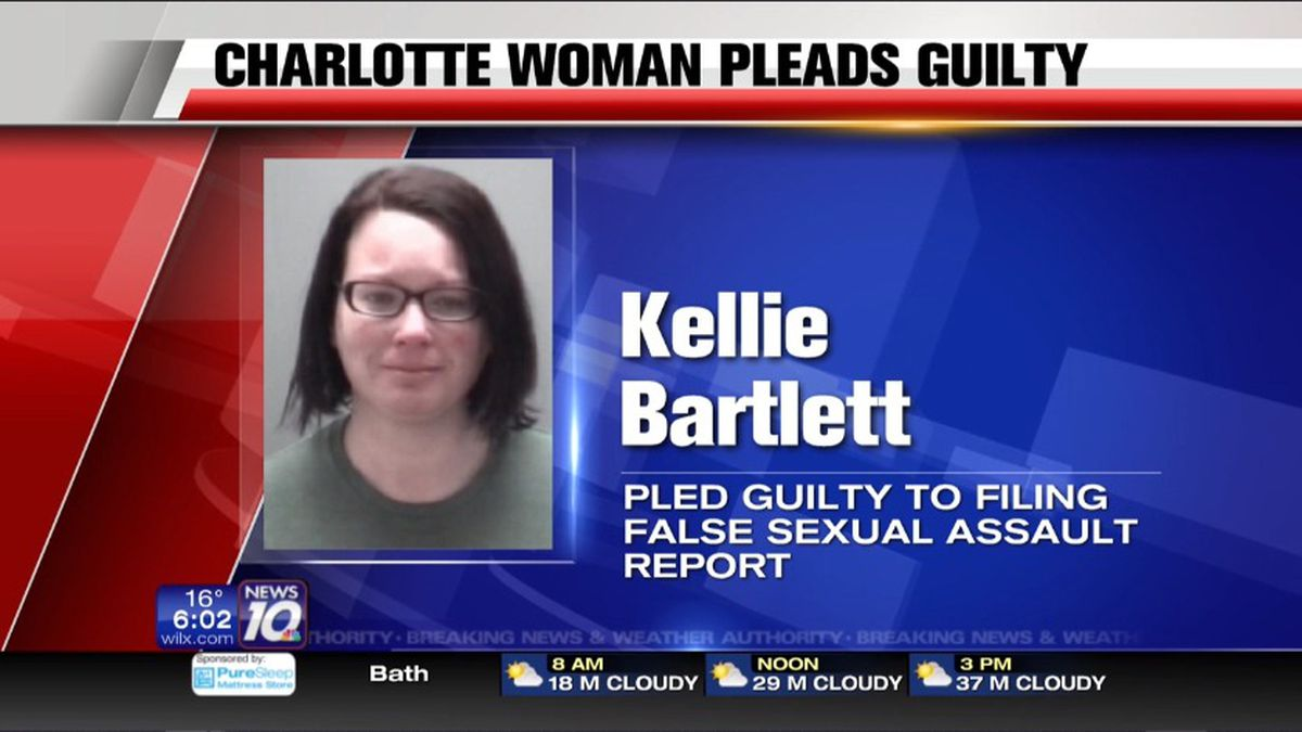 Kellie Bartlett plead guilty to three felonies and two misdemeanors. (Source WILX)