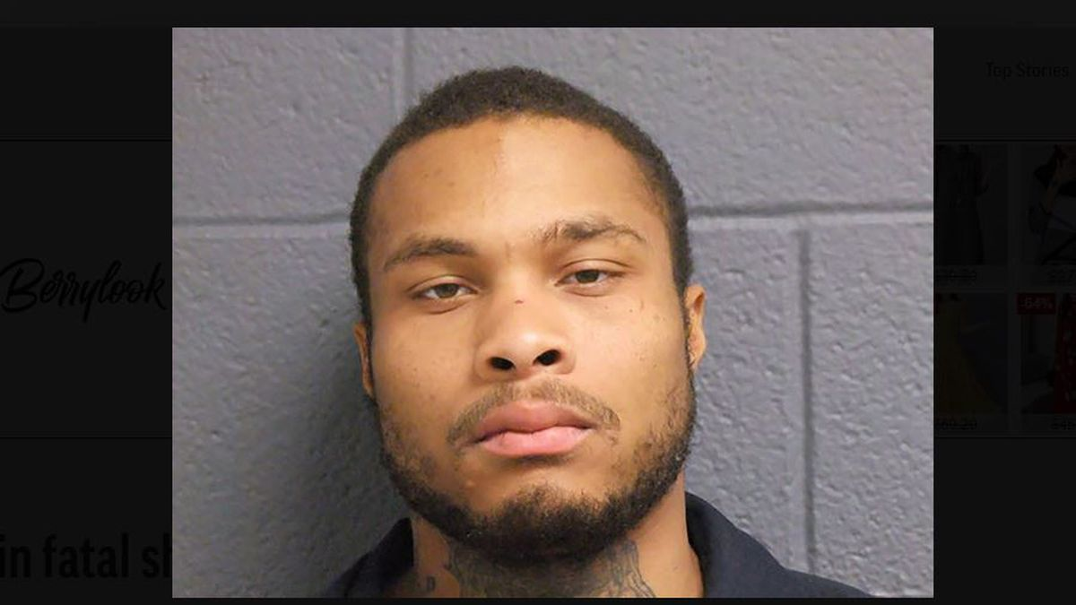 In this Nov. 25, 2019 photo provided by the State of Michigan Department of Corrections is JuJuan Parks. Parks, a convicted felon has been charged in the fatal shooting last month of a Detroit police officer Rasheen McClain and the wounding of another as they searched for him following a home invasion. Parks could be arraigned as early as Tuesday, Dec. 3 on 16 charges, including first-degree premeditated murder. (State of Michigan Department of Corrections via AP)