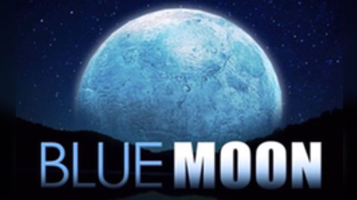 Seasonal Blue Moons are said to occur once every two to three years.