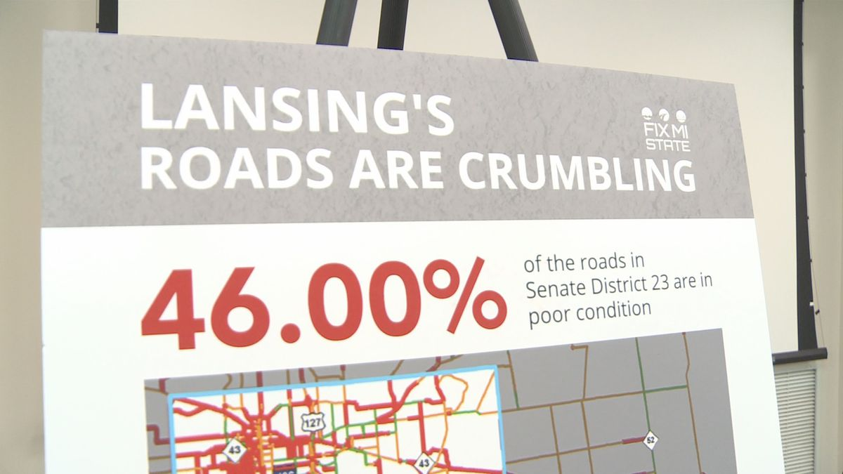 Several Michigan business leaders called on Governor Gretchen Whitmer and lawmakers to deliver on campaign promise of fixing the state's roads.