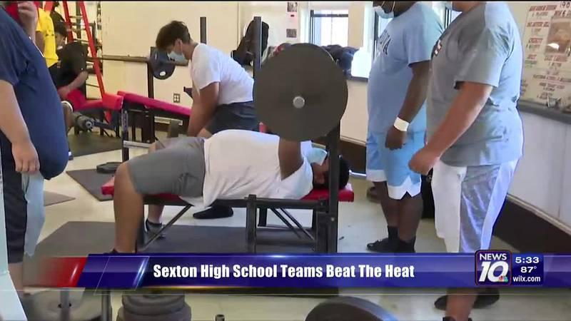 Sexton High School beats the heat