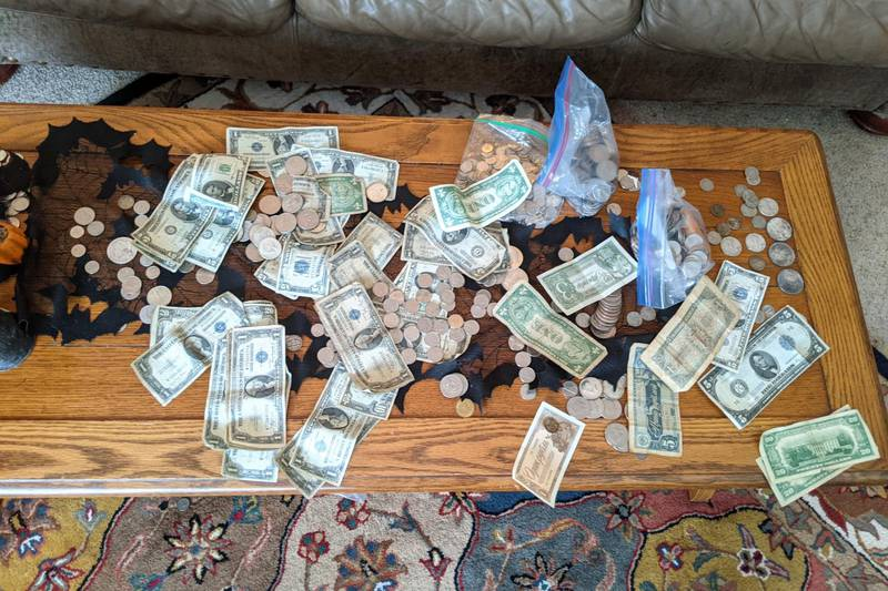 A Lansing woman found money dating back to the 1800′s, but what it was in is even more...