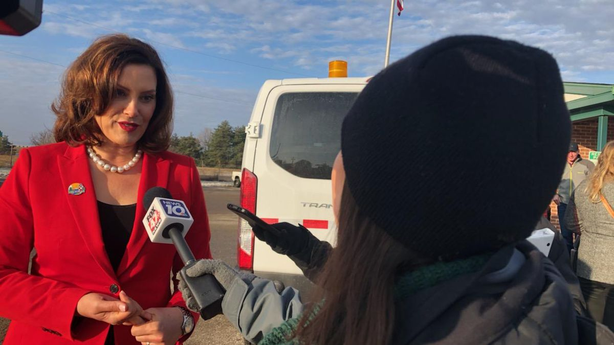 Governor Gretchen Whitmer spoke exclusively with Kylie Khan.