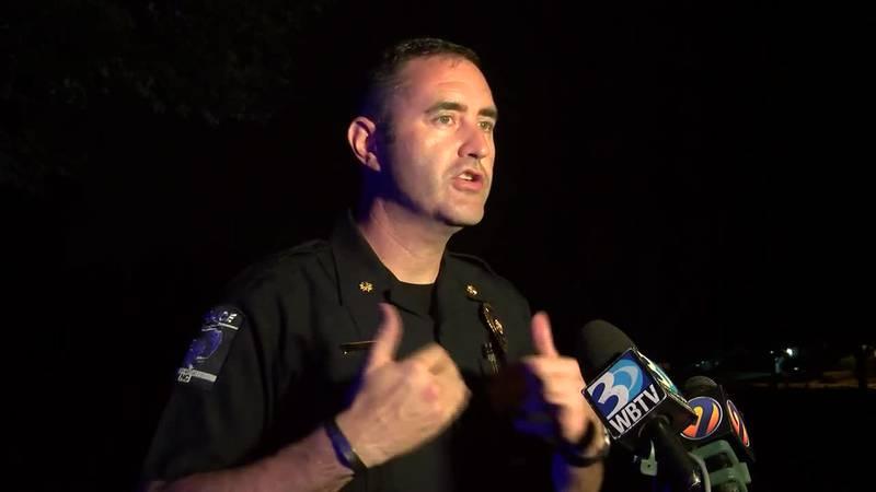 CMPD Maj. Ryan Butler speaks after child killed in shooting