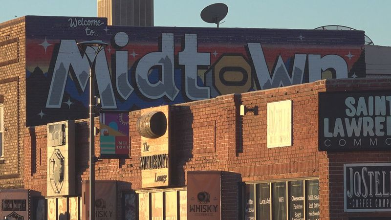 Welcome to Midtown sign