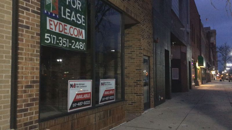 City works to fill vacant spaces in Downtown Lansing