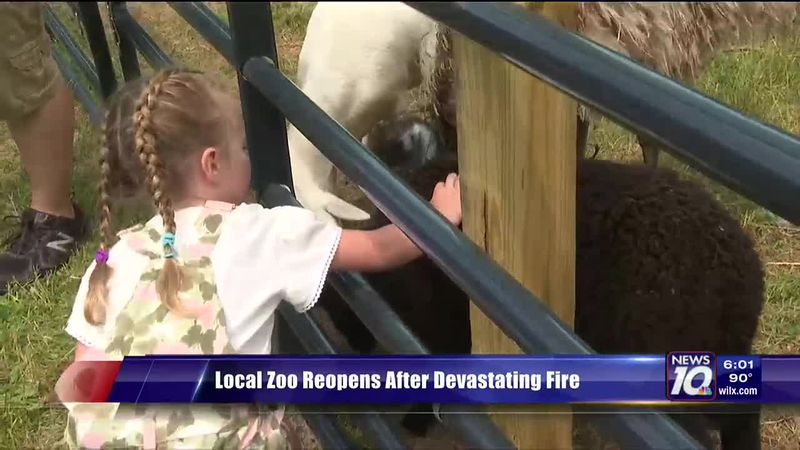 Local Zoo Reopens After Devastating Fire