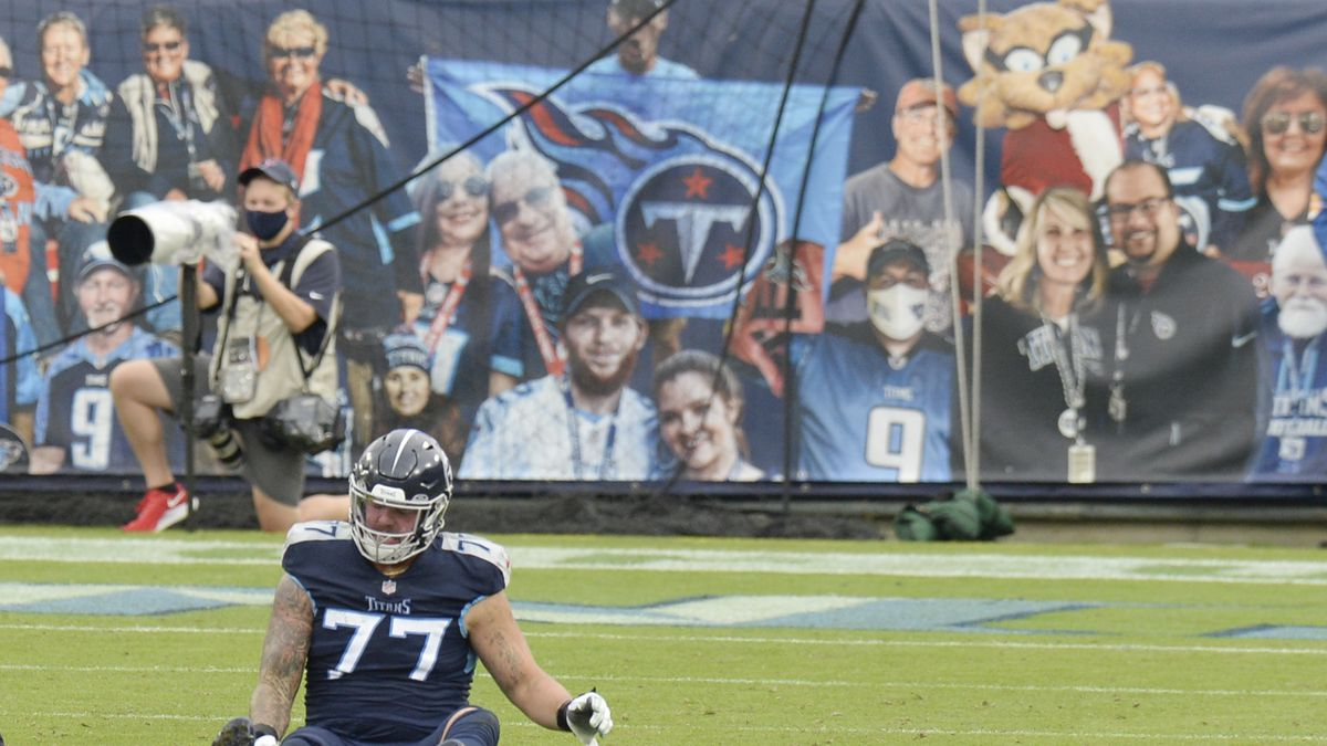 Tennessee Titans offensive tackle Taylor Lewan