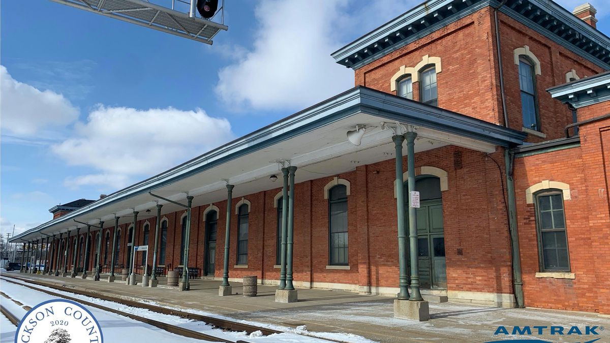 Jackson's Amtrak station is being recognized for its connections to the Underground Railroad.