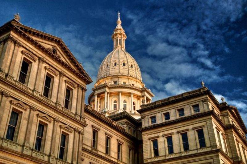 Photo courtesy: capitol.michigan.gov; Capitol of Michigan photo courtesy of David Marvin.
