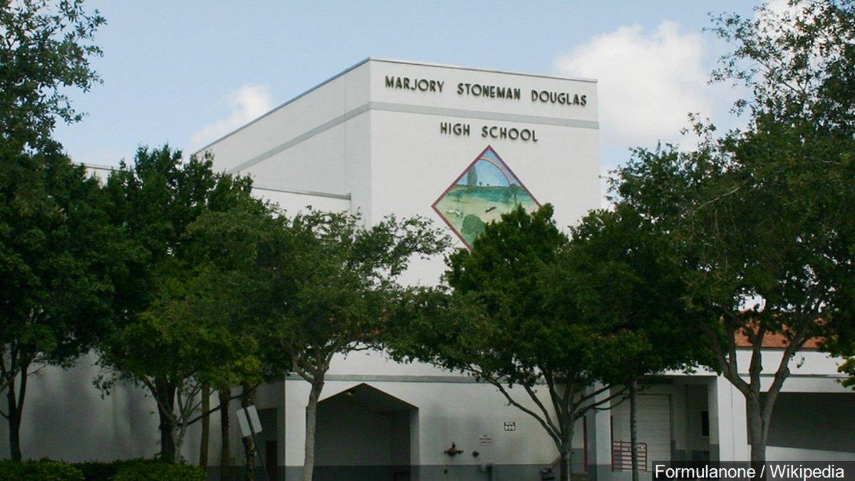 Marjory Stoneman Douglas High School in Parkland Florida, Photo Date: 6/22/08 Cropped Photo:...