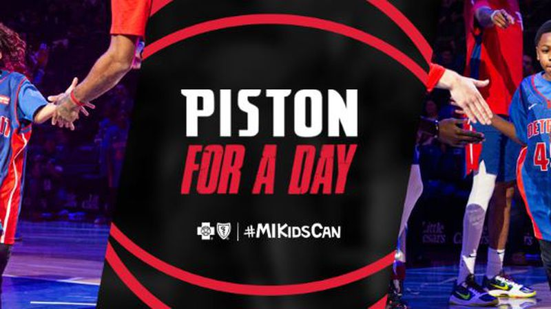 Blue Cross Blue Shield of Michigan and the Detroit Pistons today are kicking off the Detroit...