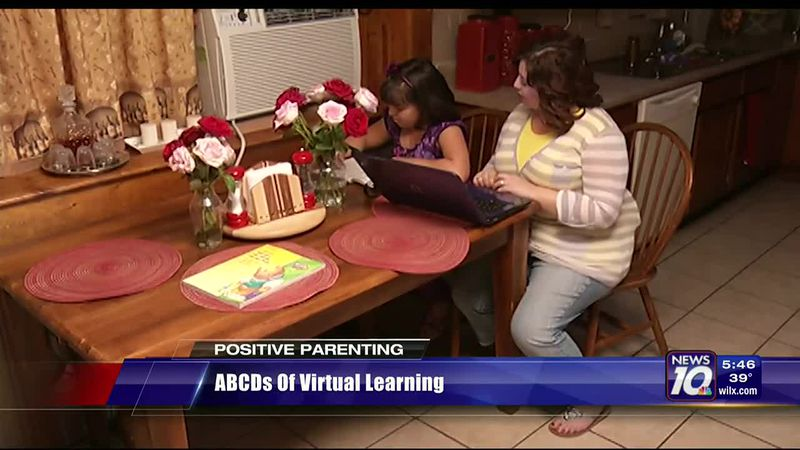 Positive Parenting: ABCD's of virtual learning