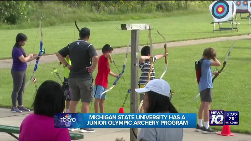Michigan State University has a junior Olympic archery program