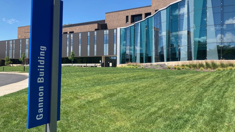 Lansing Community College's Gannon Building
