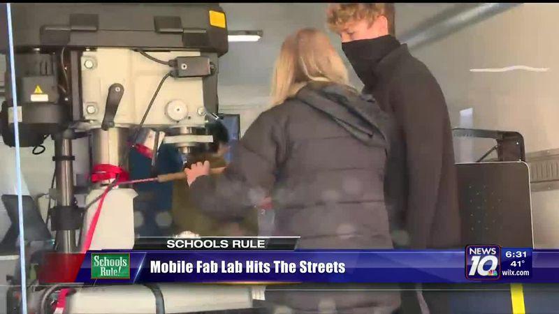 Eaton RESA's Mobile Fab Lab heads to schools before coronavirus orders.