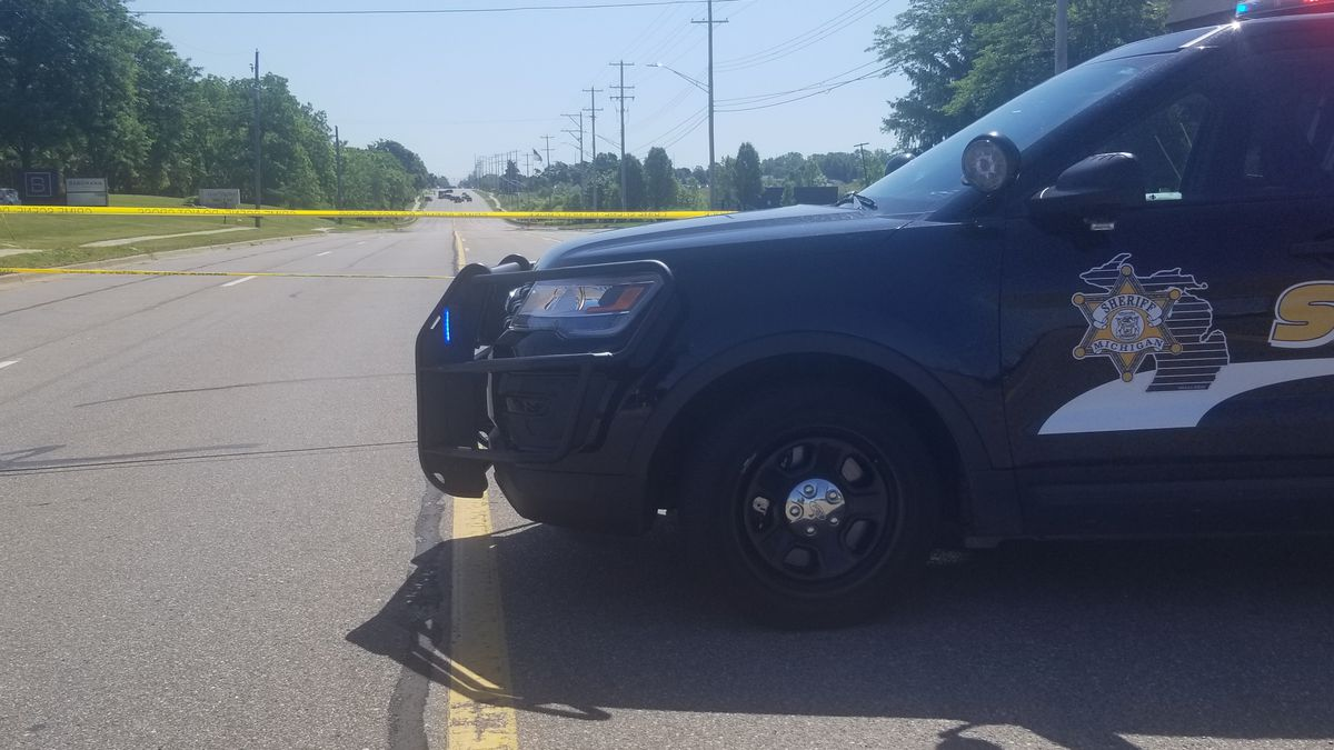 The Eaton County Sheriff's Office and Michigan State Police are investigating the death of a man who police was seen walking down the middle of a highway shooting a gun.