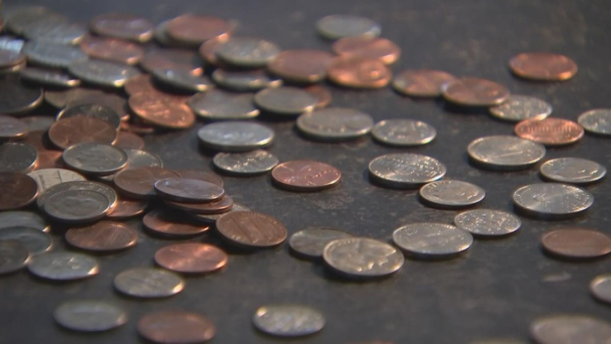 A lack of in-person spending due to the COVID-19 pandemic is being cited as the driving factor behind a national coin shortage. (NBC News)