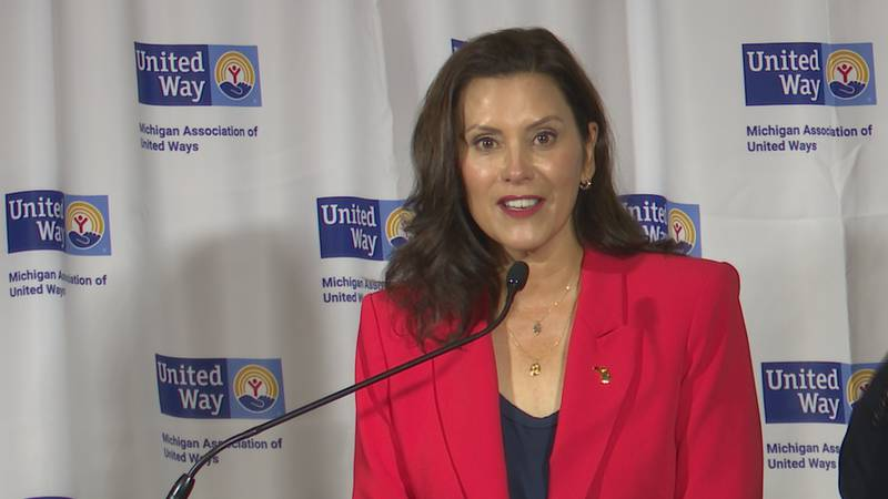 Gov. Gretchen Whitmer announced the MI Shot to Win Sweepstakes, aimed at getting Michigan to...