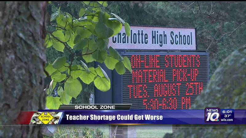 Teacher shortage could get worse