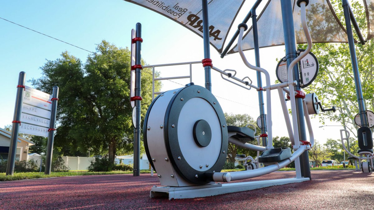 Free fitness classes are coming to Rotary Park's AARP Sponsored Outdoor Fitness Park in Lansing.